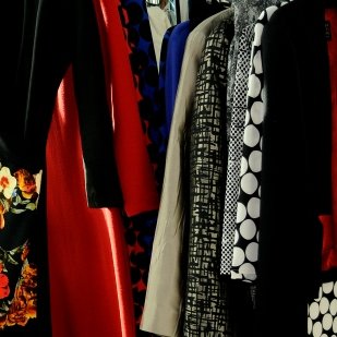 A few of Kate Henry's Sample Clothing