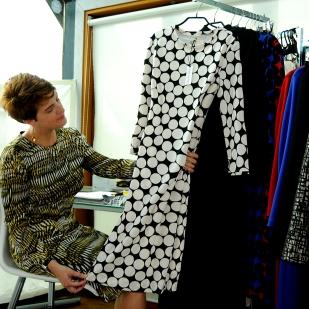 Kate Henry Working in Studio