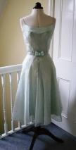50s inspired mint dress