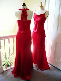 in Silk Satin all designed to suit