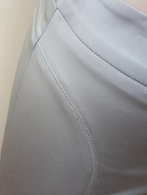 Silver tailored trousers
