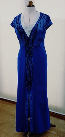 Custom made gown created by Kate Henry