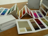Kate Henry Designs silk fabric colours