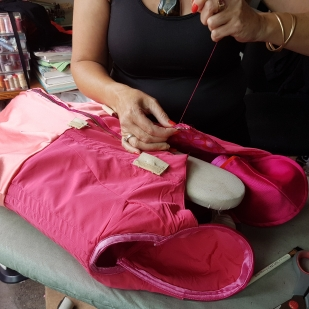 Qaulity hand sewing by Kate Henry Designs