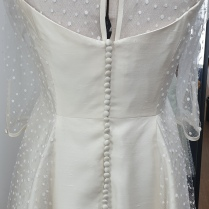 Made made Wedding Gown by Kate Henry