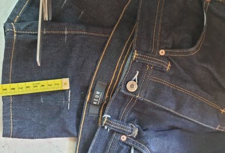 Jeans Shortening by Kate Henry Designs