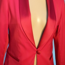 Pink Tailored Jacket by Kate Henry Designs.