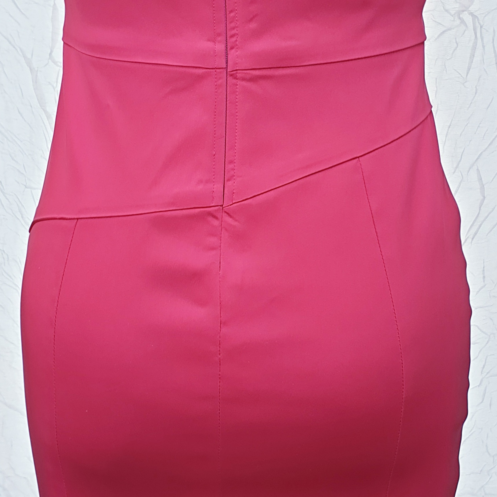 Custom made Pink fitted Dress by Kate Henry Designs
