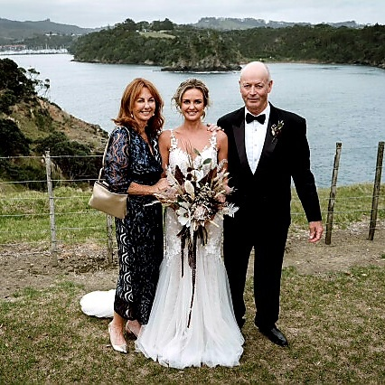 Mother of the bride dress by Kate Henry Designs